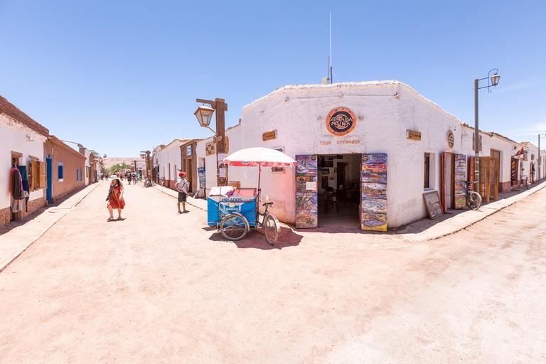 EM60W1 In the heart of San Pedro de Atacama, Chile, South America