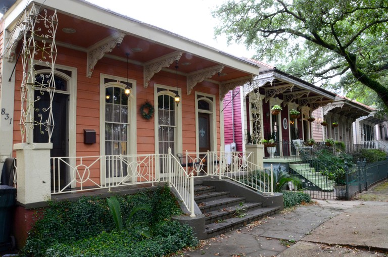 algiers new orleans houses louisiana wooden