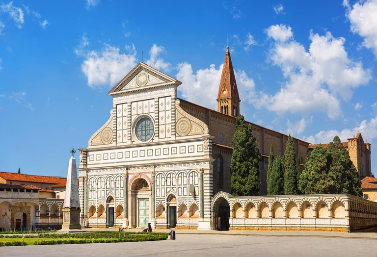 Santa Maria Novella church. Florence, Italy