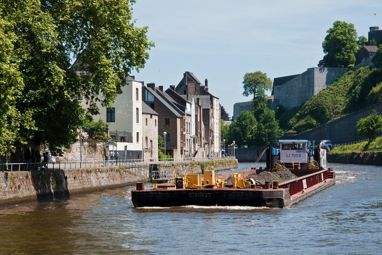 River Sambre, Namur, Belgium