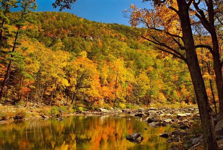 Maury River, Goshen Pass, Goshen, Virginia, USA
