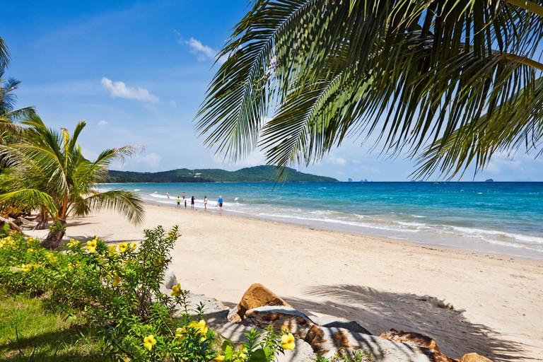 Klong Muang Beach, Krabi Province, Thailand.