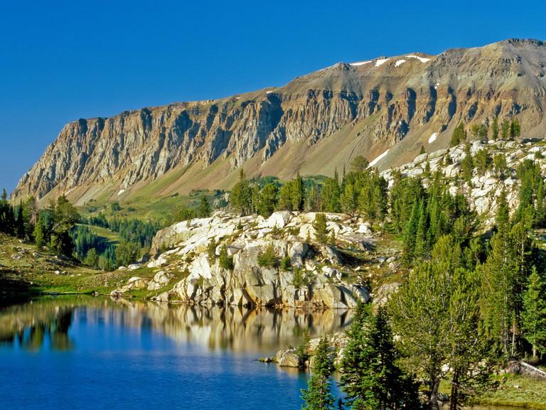 FBYKEE star lake and sheep mountain in the beartooth range near cooke city, montana