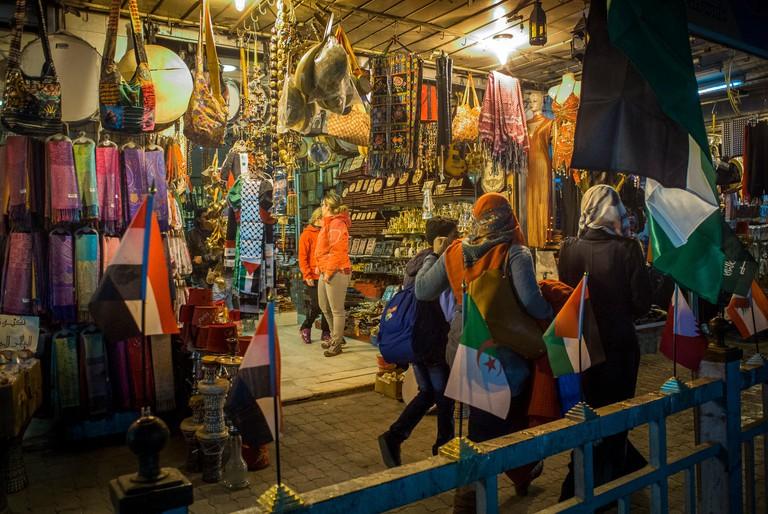 Shop in Downtown Amman, Jordan