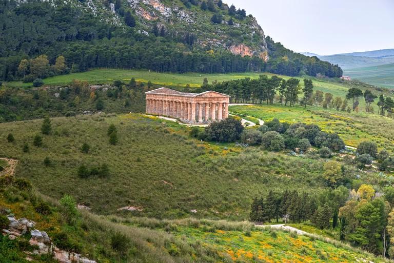 Segesta, Calatafimi, Trapani, Sicily, Italy