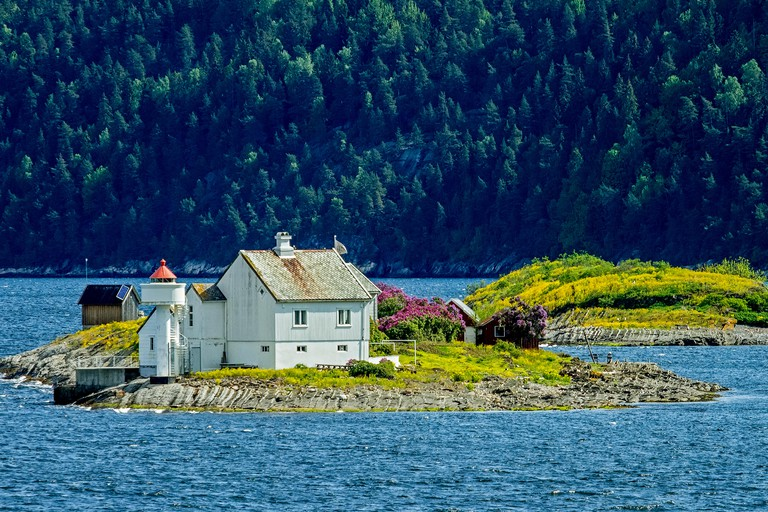 G5XMGF Small Village On An Island Oslofjord Norway