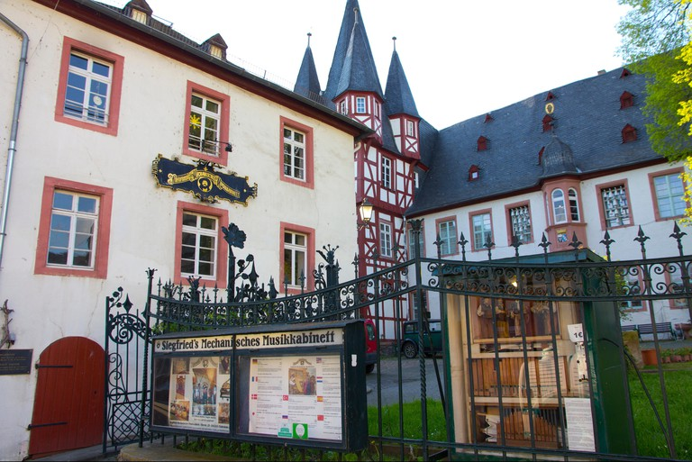 Siegfried's Mechanical Music Cabinet Museum houses an impressive collection of self-playing instruments in Rudesheim, Germany.
