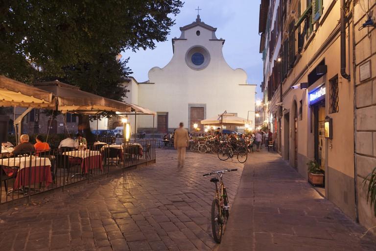 Piazza (square) Santo Spirito