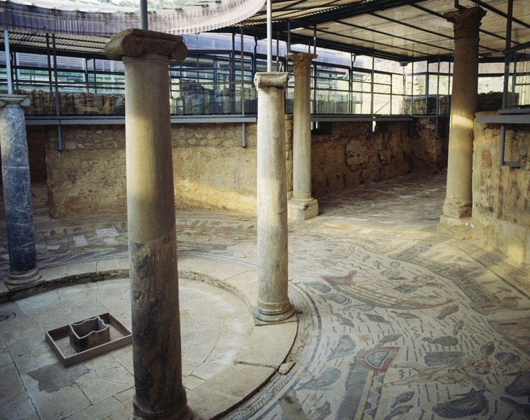Mosaic floor, Villa Romana del Casale