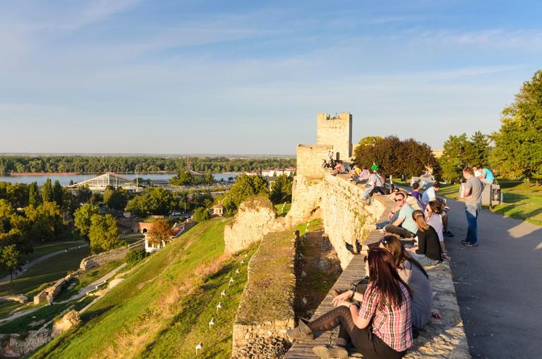 Beograd, Belgrade: Fortress with the Kalemegdan Park, Castellan Tower, Serbia, ,