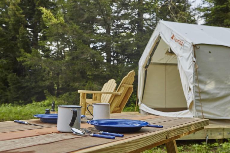 Gold Rush Campsite