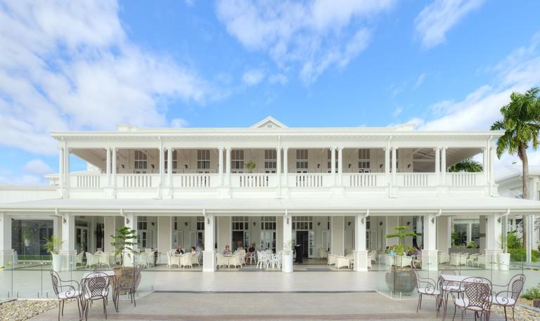 Grand Pacific Hotel, Suva day