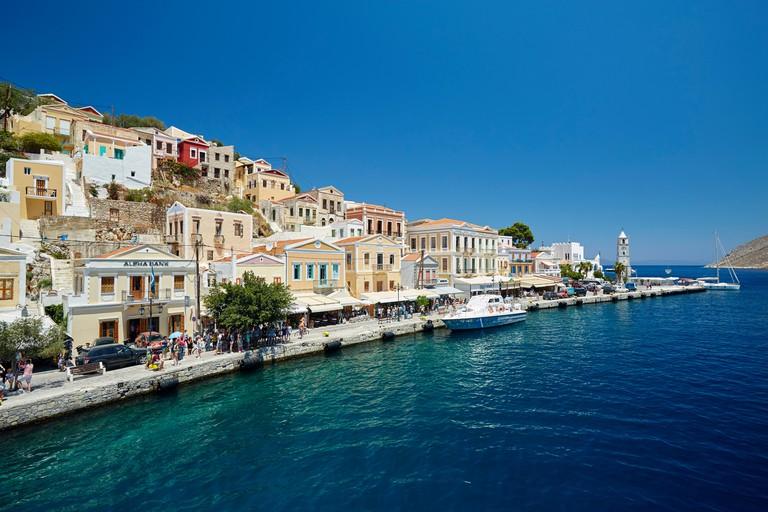Symi harbour, Rhodes