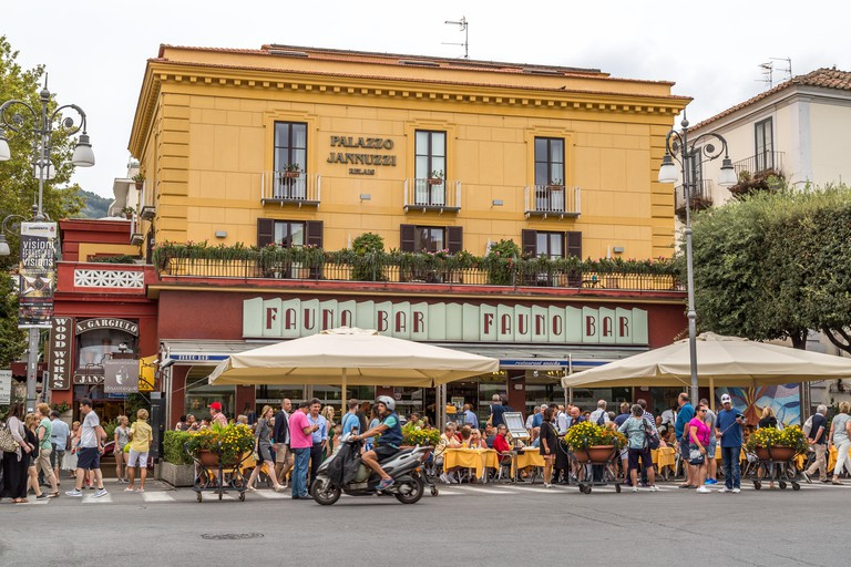Fauno Bar at Piazza Tasso, Sorrento, Italy