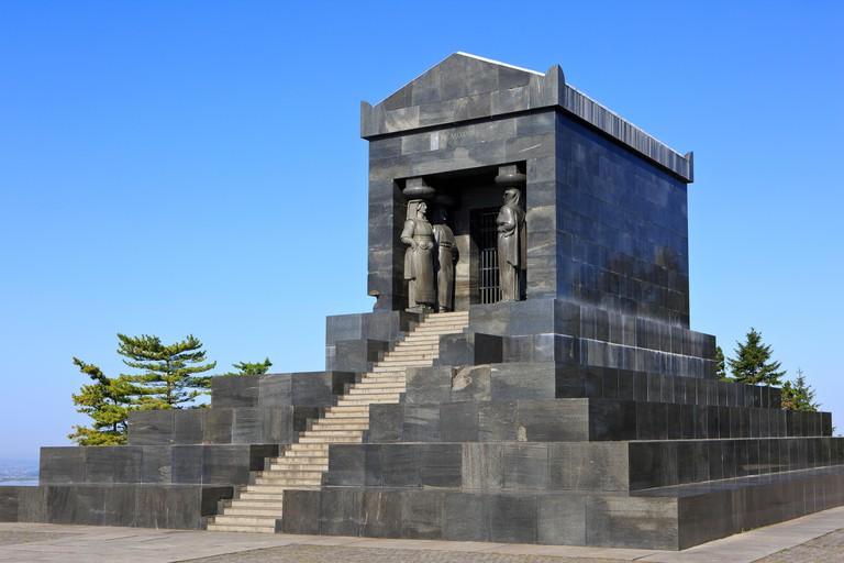 Monument to the Unknown Hero (World War I & Balkan Wars memorial) at Mount Avala near Belgrade, Serbia