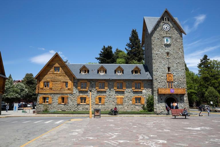 Bariloche Alpine style Centro Civico building