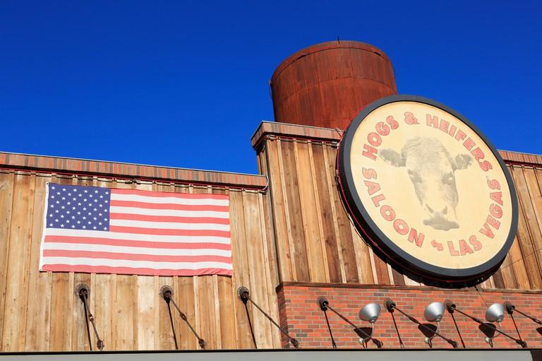 Hogs & Heifers Saloon, North 3rd Street, Downtown District, Las Vegas, Nevada, USA