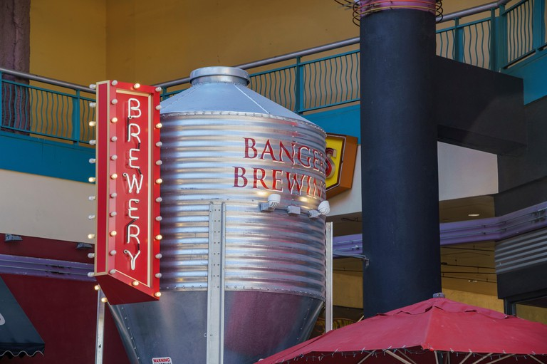 The special Banger Brewing on APR 29, 2017 at Downtown Las Vegas, Nevada
