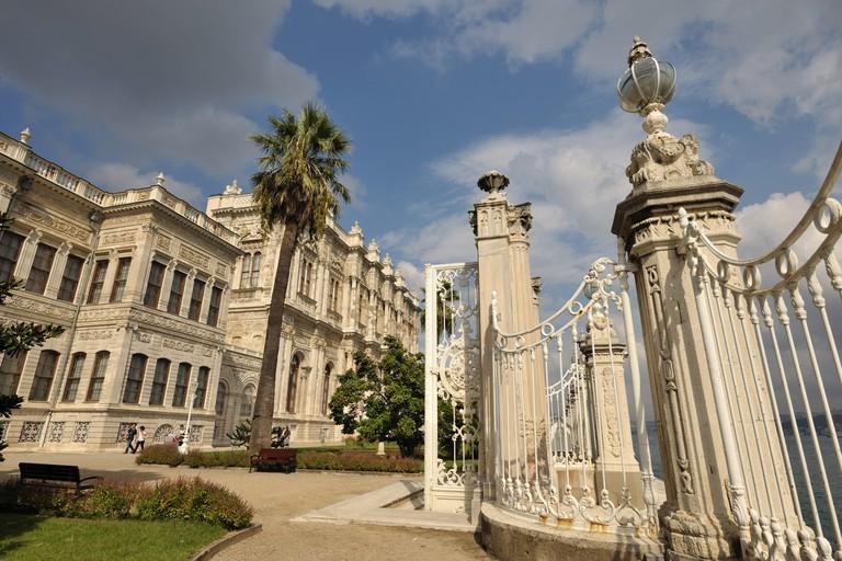 Turkey, Istanbul, Dolmabahce palace,