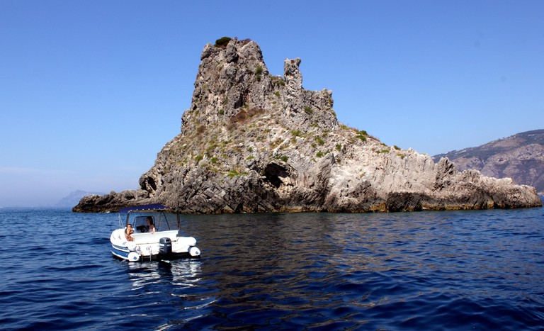 Li Galli island archipelago near Sorrento Amalfi Coast