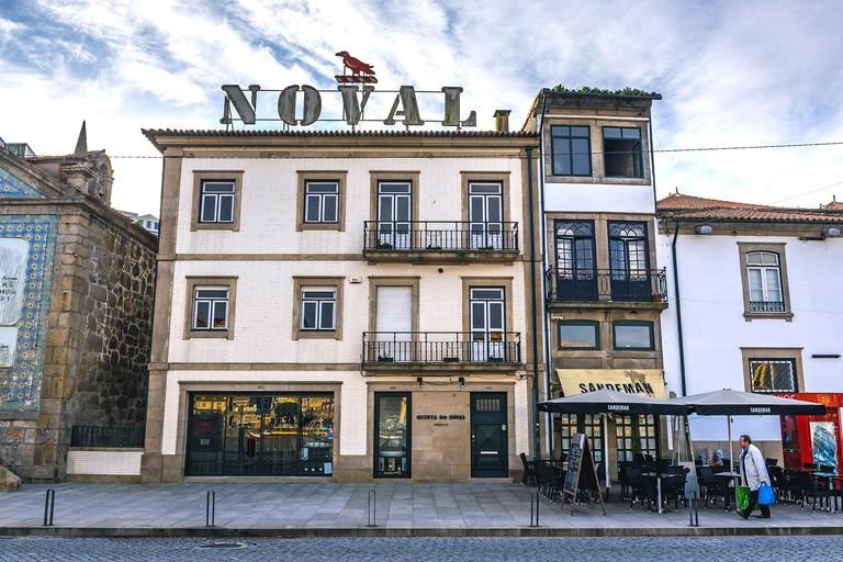 Quinta do Noval wine house on Diogo Leite Avenue in Vila Nova de Gaia city of Portugal