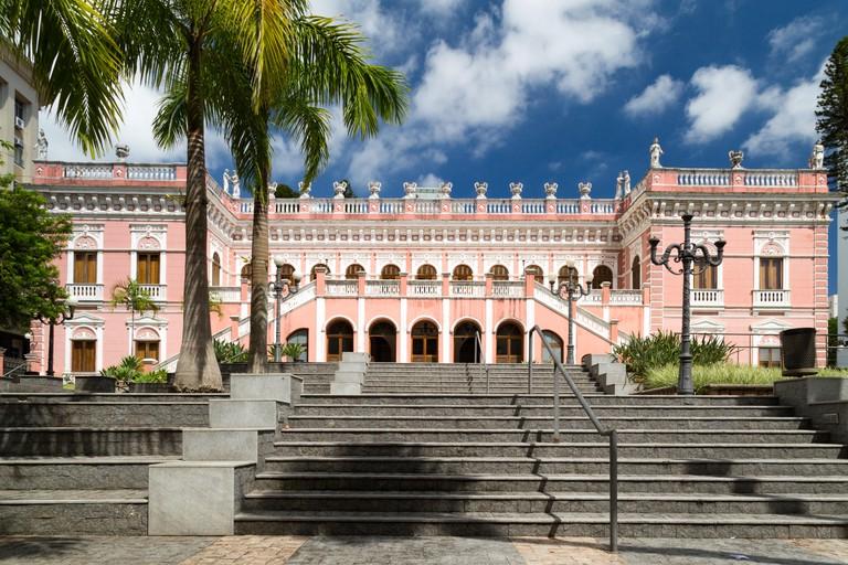 Museu Historico de Santa Catarina (MHSC), Historical Museum of Santa Catarina, Palacio Cruz e Sousa, Florianopolis, state of Santa Catarina, Brazil