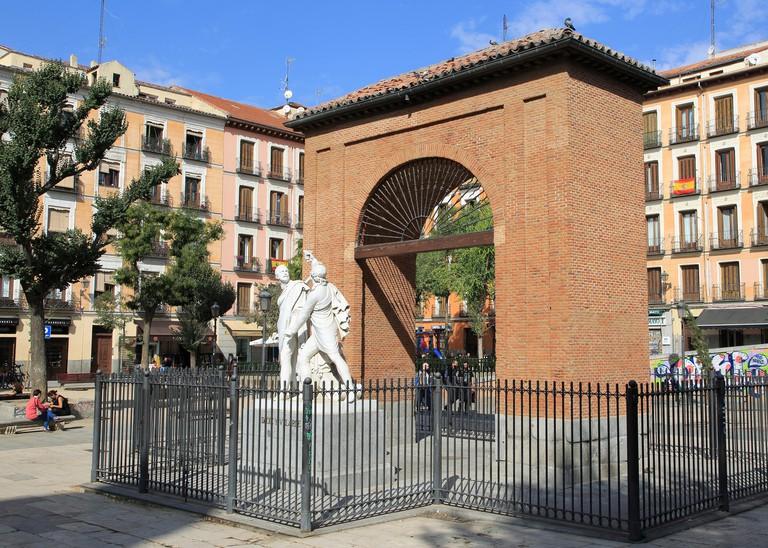 Plaza del Dos de Mayo, Malasana, Madrid city centre, Spain