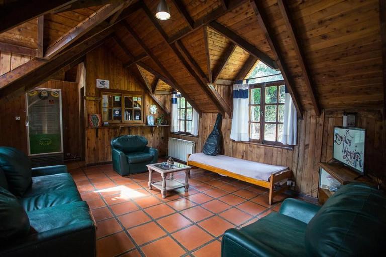 Alaska Hostel interior
