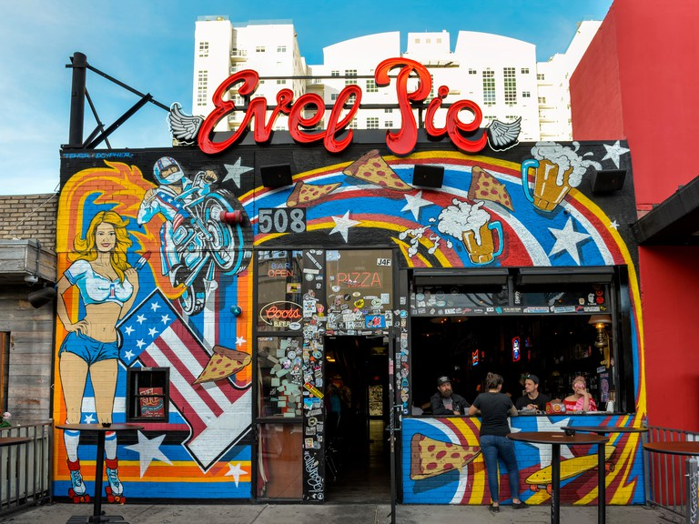 Evel Pie in the Fremont District, downtown Las Vegas