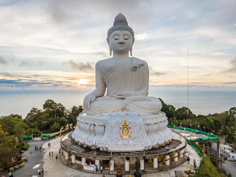 Big Buddha Phuket Aerial View HDR