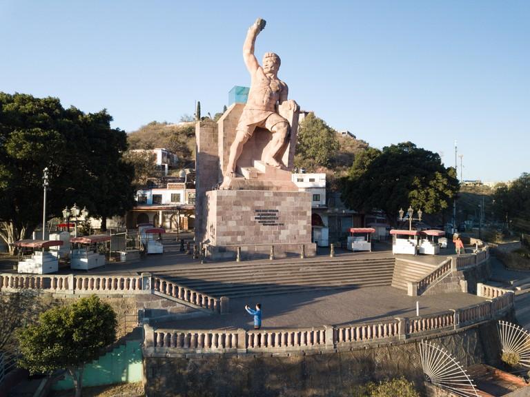 Monumento al Pipila, Statue of al Pipila, Guanajuato, Mexico
