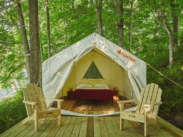 Lake D'Arbonne State Park Site H Double Tent Site_t2
