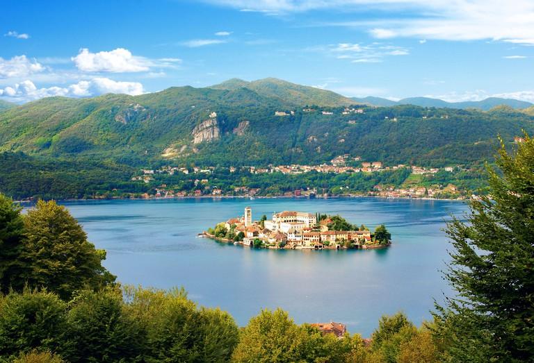 SONY DSCSt. Julius Island on Lake Orta in Piedmont Italy.
