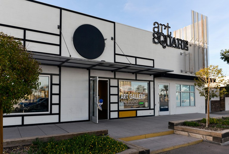 Arts Square Gallery in the Downtown Las Vegas Arts District.