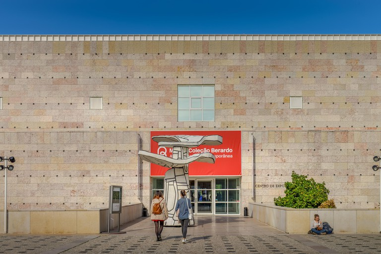 'Museu Colecao Berardo Museum of Art', Belem, Lisbon, Portugal, Kunstmuseum ´Museu Colecao Berardo´, Lissabon