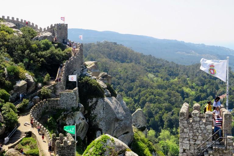 Moorish Castle, Sintra, Portugal.. mark-lawson-7tS_YOTFTtA-unsplash