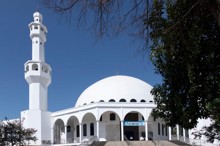 The Mosque of Omar Ibn Al-Khattab in Foz de Iguaca, Parana state, Brazil