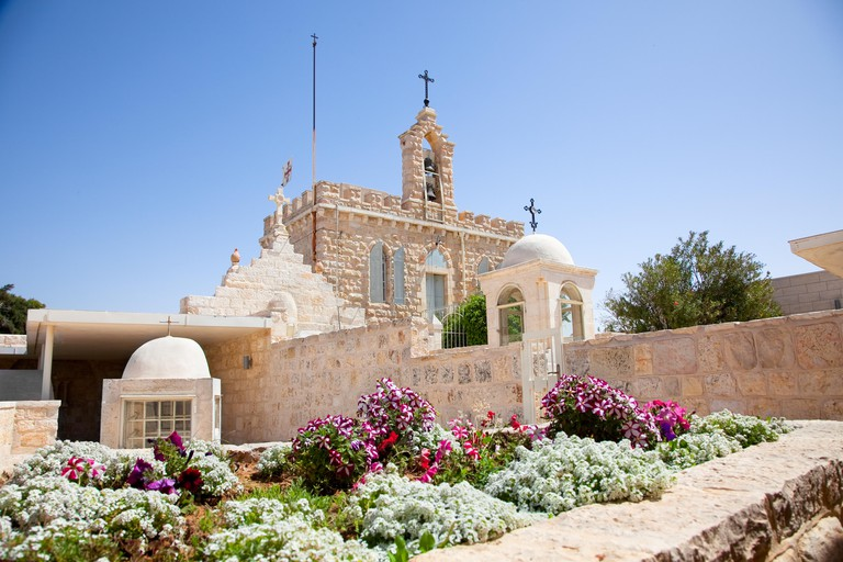 Milk Grotto church of the Virgin Mary in Bethlehem, Palestine, Israel