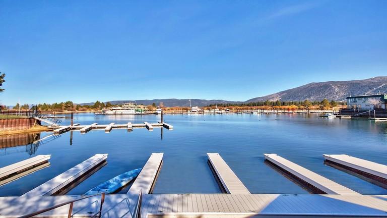 Mv22: Waterfront Condo in Tahoe Keys jetty views