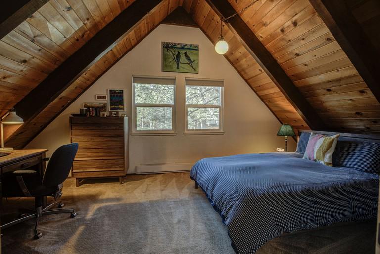 Oasis in the Pines bedroom interior