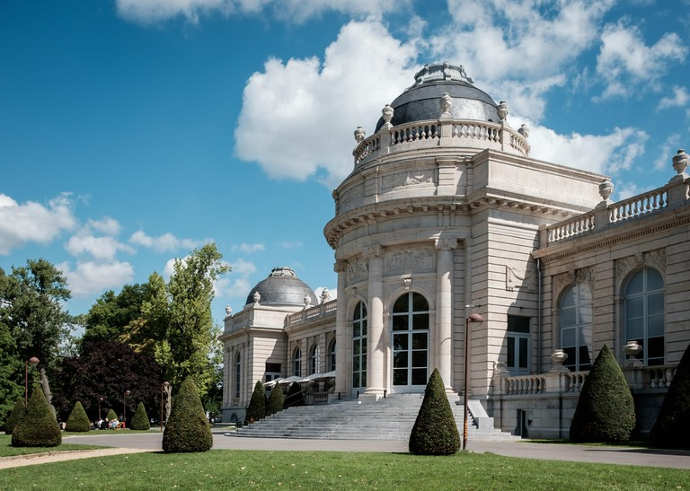 Museum 'La Boverie' in the city of Liege, Sunday 6 August 2017, Liege, Belgium.
