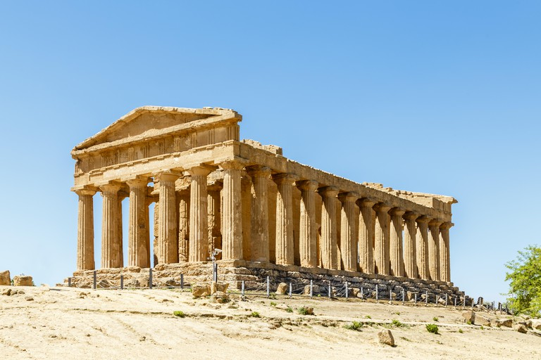 Valley of the Temples, Agrigento, Sicily, Italy. Image shot 03/2018. Exact date unknown.