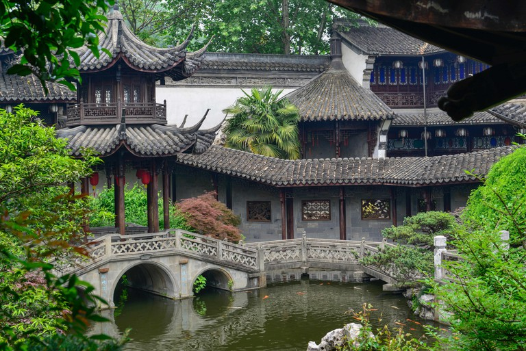 The former home of Hu Xueyan