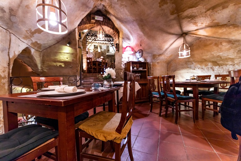 Restaurant Da Divo. Siena, Italy