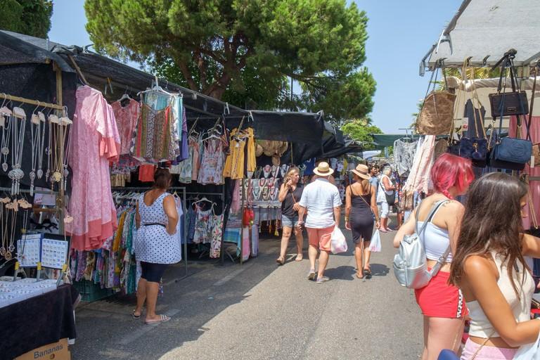 Puerto Banus Street Market, Marbella, Spain