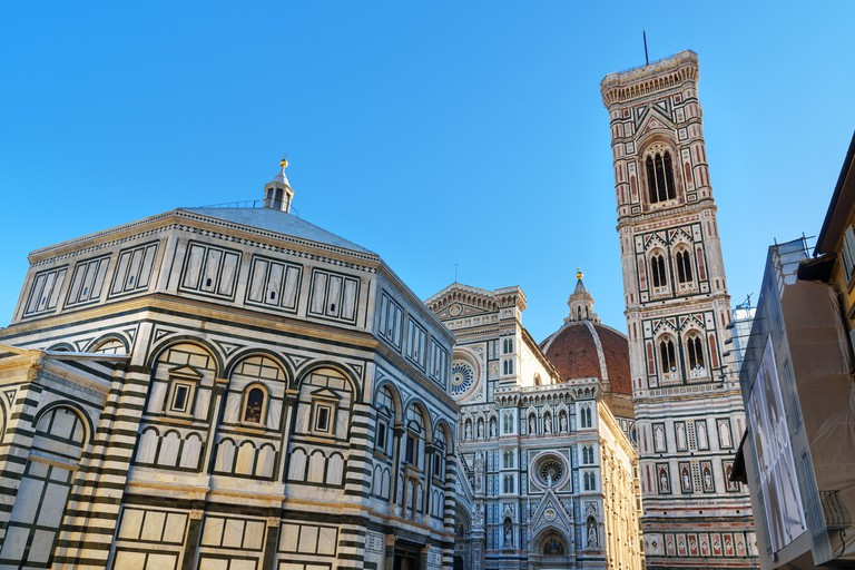 Cathedral of Santa Maria del Fiore, Duomo in Florence. Tuscany, Italy