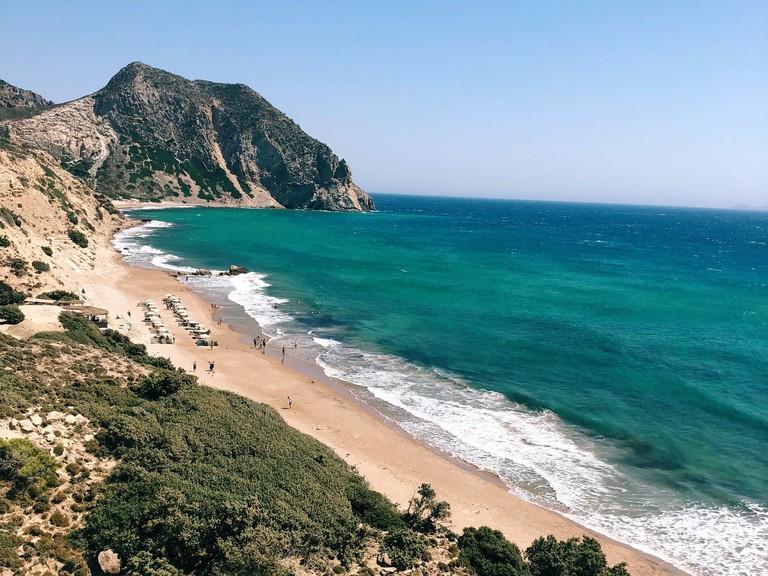 Paradise Beach in Kos, Greece, Kos
