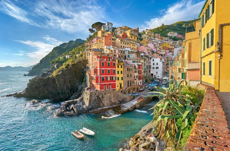 Riomaggiore, Cinque Terre National Park, Liguria, Italy, UNESCO