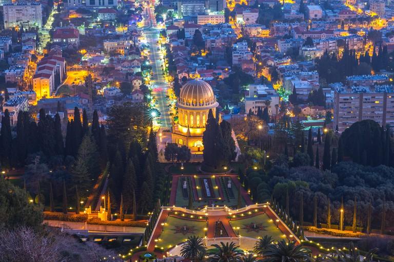 Hanging Gardens of Haifa, Terraces of  Bahai Faith