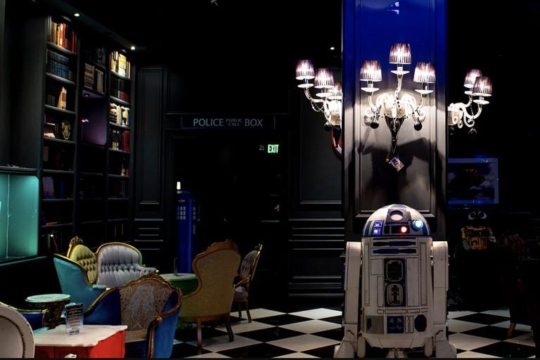 Millennium Fandom Bar interior